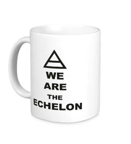 Керамическая кружка We are the echelon