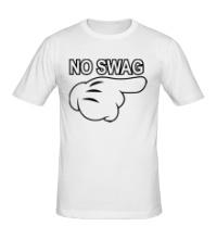 Мужская футболка No swag