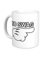 Керамическая кружка No swag