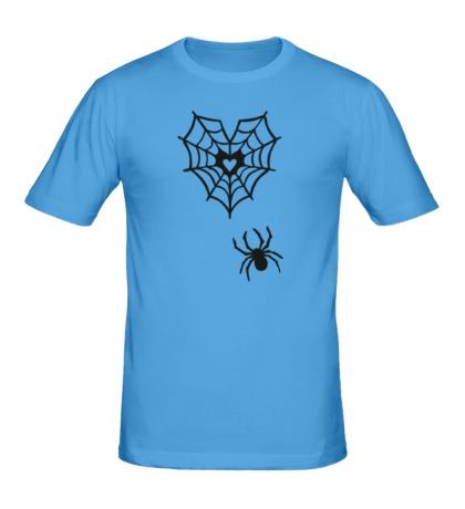Мужская футболка Любящий паук
