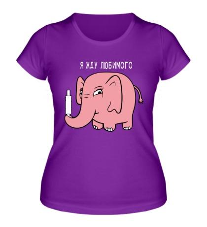 Женская футболка Жду любимого