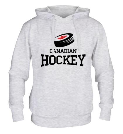 Толстовка с капюшоном Canadian hockey