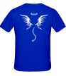 Мужская футболка «Злой ангел» - Фото 2