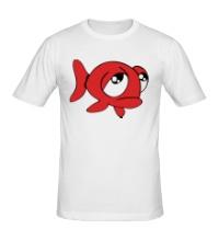 Мужская футболка Грустная рыба