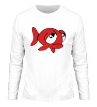 Мужской лонгслив Грустная рыба
