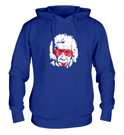Толстовка с капюшоном Современный Эйнштейн