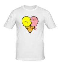 Мужская футболка Веселые мороженные