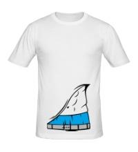 Мужская футболка Мужской торс