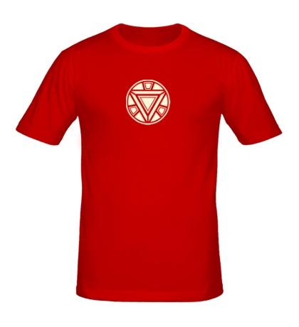 Мужская футболка Iron Man reactor