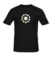 Мужская футболка Arc Reactor Glow