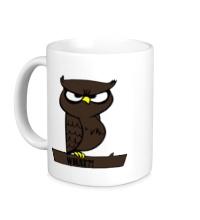 Керамическая кружка What owl?