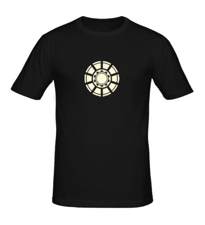 Мужская футболка Реактор железного человека