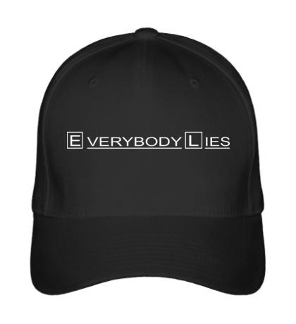 Бейсболка Everybody Lies Sign