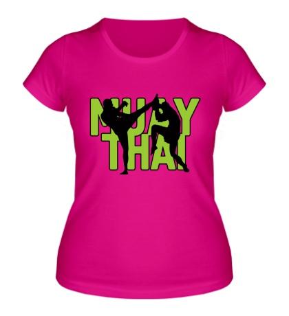 Женская футболка Muay Thai Sparring