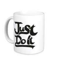 Керамическая кружка Just Do It: Art