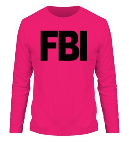 Мужской лонгслив FBI