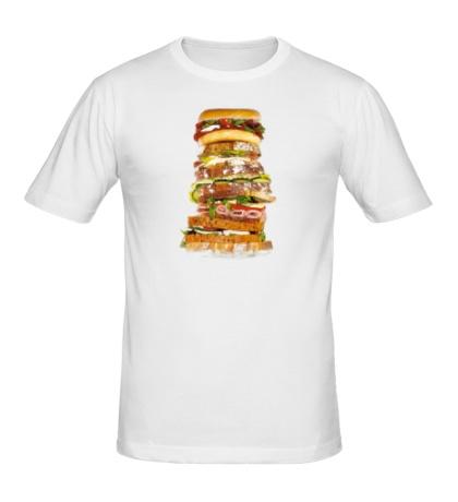 Мужская футболка Мегабургер