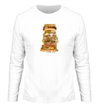 Мужской лонгслив Мегабургер
