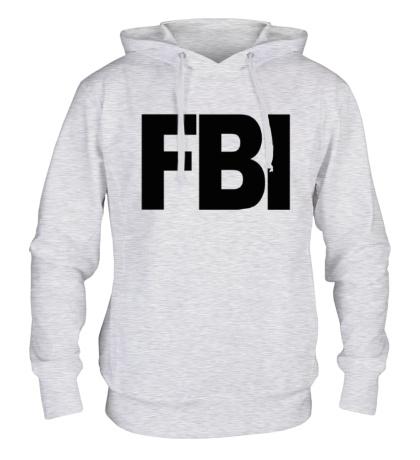 Толстовка с капюшоном FBI