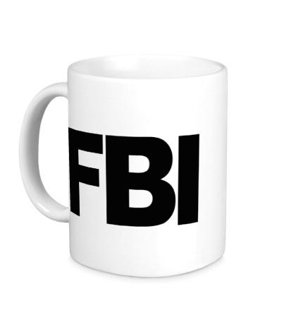 Керамическая кружка FBI