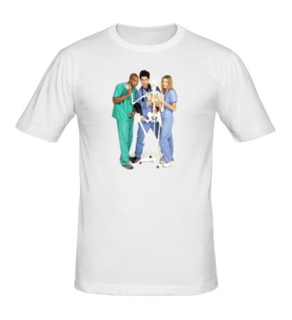 Мужская футболка Клиника