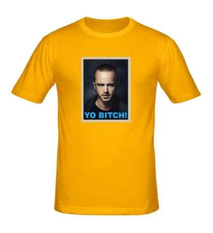 Мужская футболка Jesse Pinkman: Yo Bitch
