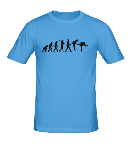 Мужская футболка Удар по эволюции