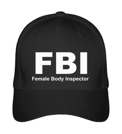 Бейсболка FBI Female Body Inspector