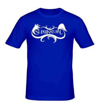 Мужская футболка Supernatural Angel