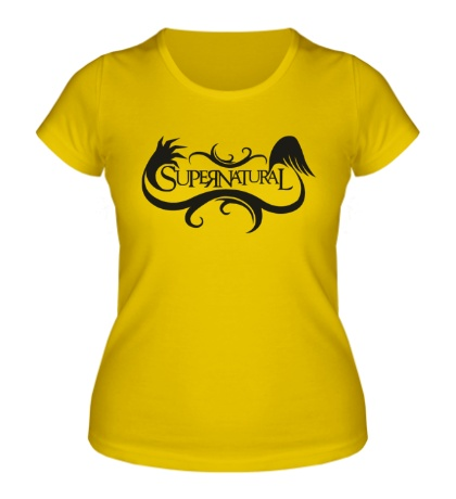 Женская футболка Supernatural Angel