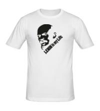 Мужская футболка Lenin is my life