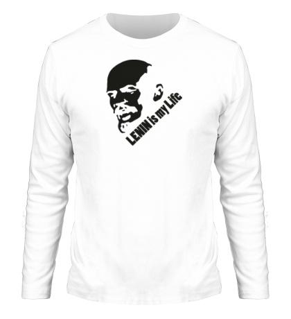 Мужской лонгслив Lenin is my life
