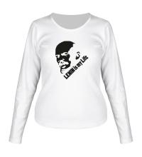 Женский лонгслив Lenin is my life