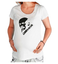 Футболка для беременной Lenin is my life