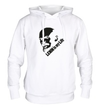 Толстовка с капюшоном Lenin is my life