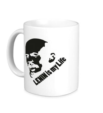 Керамическая кружка Lenin is my life