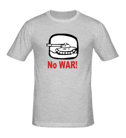 Мужская футболка No War
