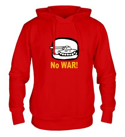 Толстовка с капюшоном No War