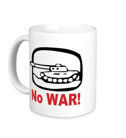 Керамическая кружка No War