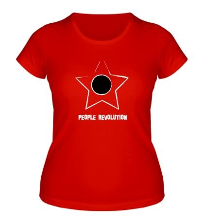 Женская футболка People revolution