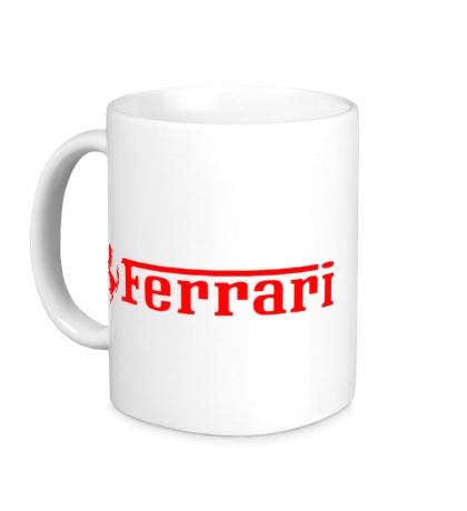 Керамическая кружка Ferrari Line