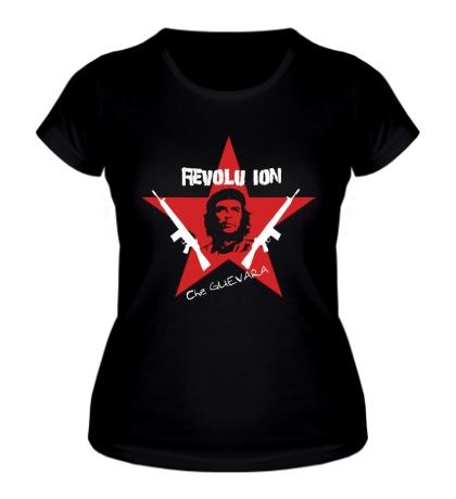 Женская футболка Revolution Star