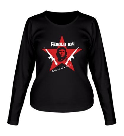Женский лонгслив Revolution Star