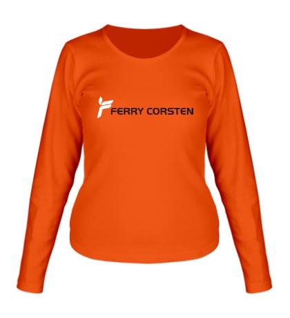 Женский лонгслив Ferry Corsten Logo