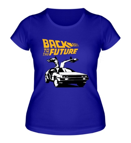 Женская футболка Back to the Future: DeLorean