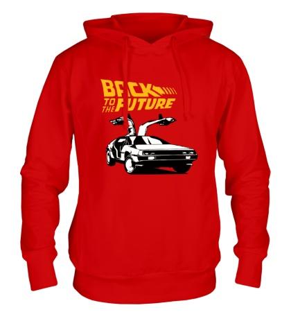 Толстовка с капюшоном Back to the Future: DeLorean