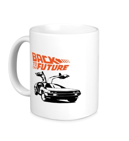 Керамическая кружка Back to the Future: DeLorean
