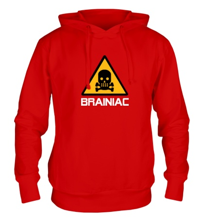 Толстовка с капюшоном Brainiac