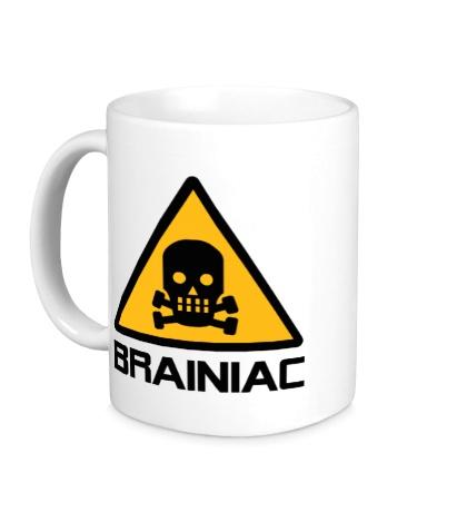 Керамическая кружка Brainiac