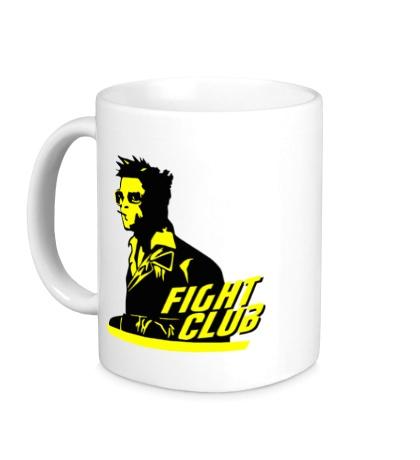 Керамическая кружка Bred Pitt: Fight Club
